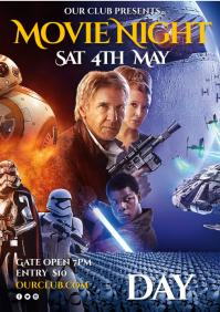 Movie Night Poster