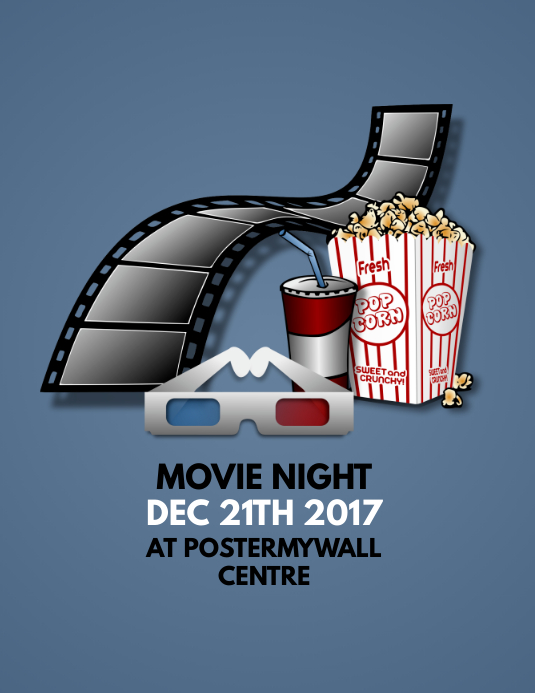 Customizable Design Templates For Movie Flyer  Postermywall