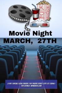 Movie Night Template