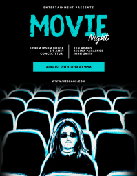 Movie Night Theatre Flyer Template