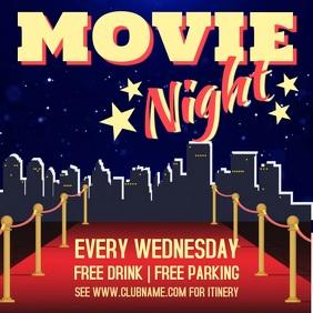 Movie Night Video Template