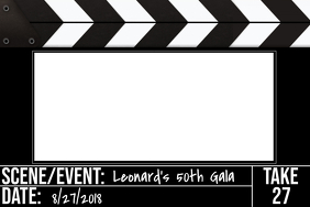 Movie Party Prop Frame