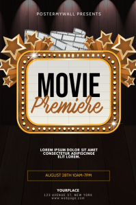 Movie Premiere Flyer Design Template