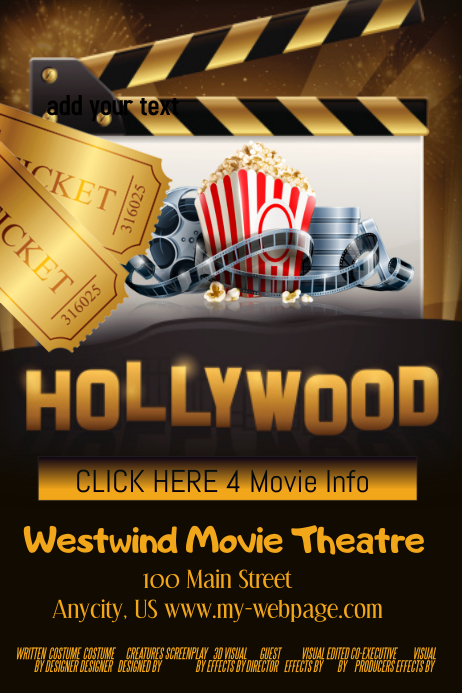 movie poster maker free