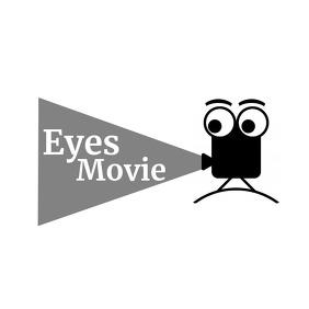 Movie video black and white logo