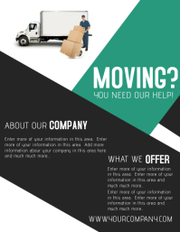 moving sale flyer template