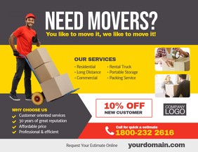 Moving Company Service Flyer