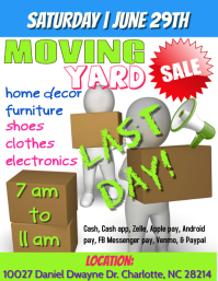 Moving Sale, Yard Sale