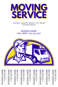 Moving Service Flyer Template