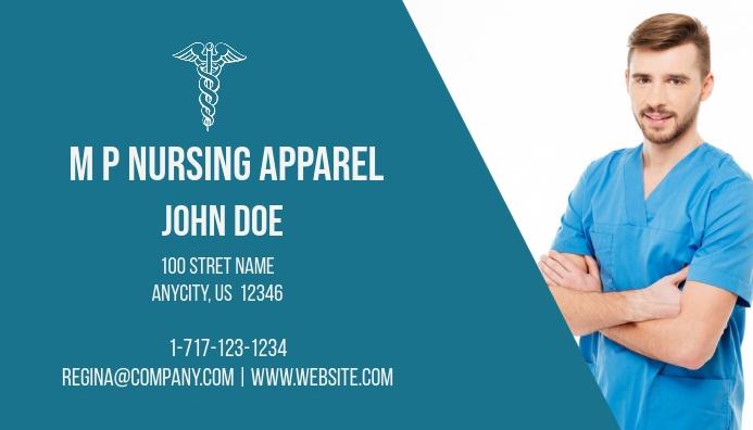 Nursing Apparel Cartão de visita template