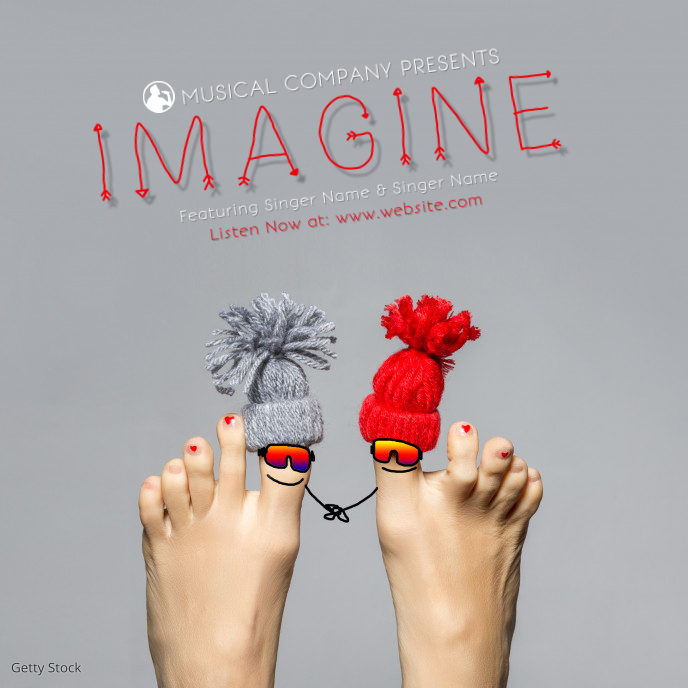 Mp3 Song Album Cover Template 专辑封面