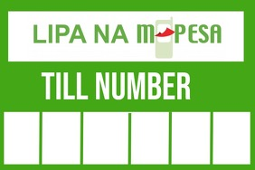 mpesa Label template