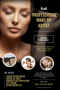 mua flyer template Poster