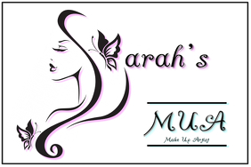 MUA INITIAL Makeup Artist Business Card