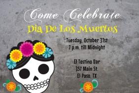 Muertos Invite Template