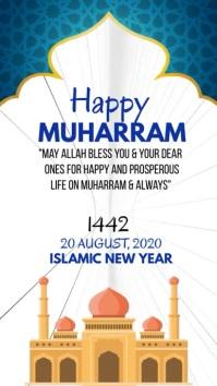 MUHARRAM MUBARAK Instagram Story template