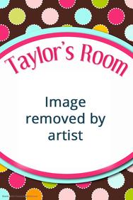 Multi Polka Dot Birthday Party Baby Room Sign Invitation