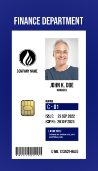 Multipurpose Business ID Card