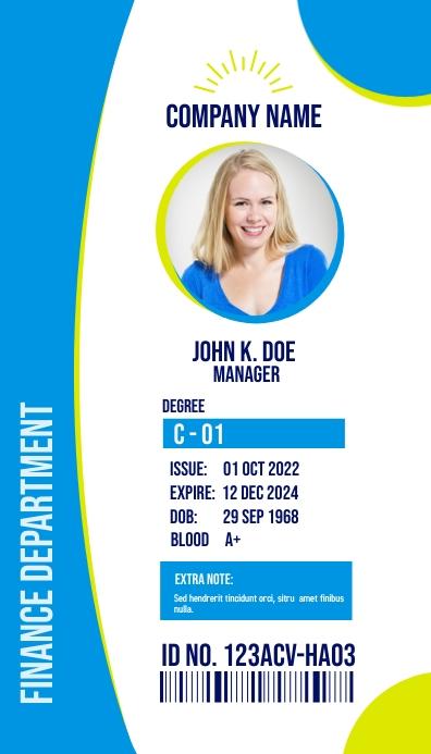 Multipurpose Business ID Card Tarjeta de Presentación template