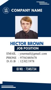 Multipurpose Business Identity card id template