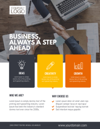 Small business flyer templates postermywall multipurpose business minimalist flyer template cheaphphosting Images