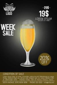 multipurpose drink bar product promotion sale flyer