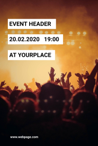 Multipurpose Event Flyer Template Grafik Pinterest