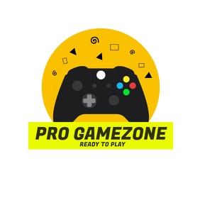 Multipurpose free Game Player logo โลโก้ template