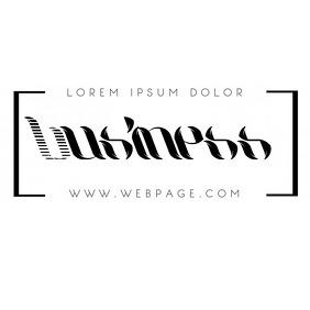 Multipurpose Initial free business logo