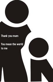 Mum thank you