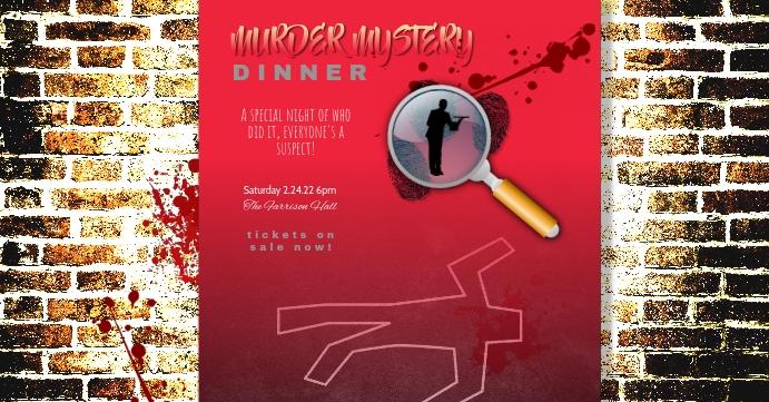 murder mystery dinner theater facebook event