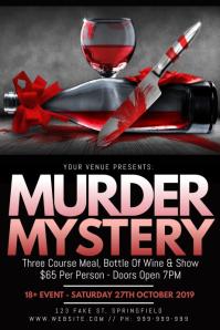 Murder Mystery Poster