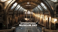 Museum Day Post di Twitter template