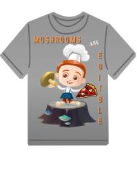 Mushroom Tshirt Art