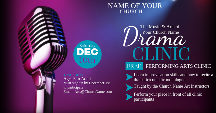 Music & Arts Drama Clinic