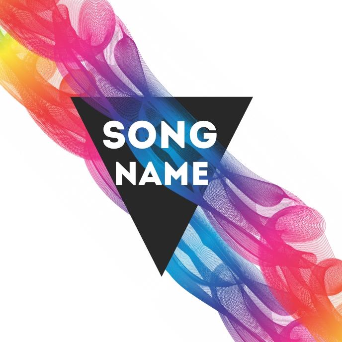 music album cover design template