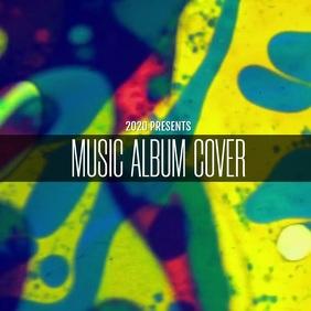 MUSIC ALBUM COVER TEMPLATE