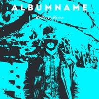 Music Album Cover Template Okładka albumu