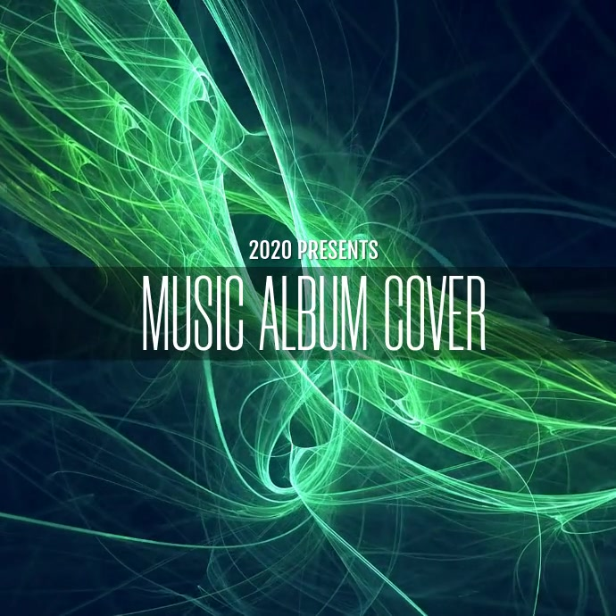 MUSIC ALBUM COVER TEMPLATE Сообщение Instagram