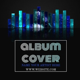 MUSIC ALBUM COVER VIDEO TEMPLATE
