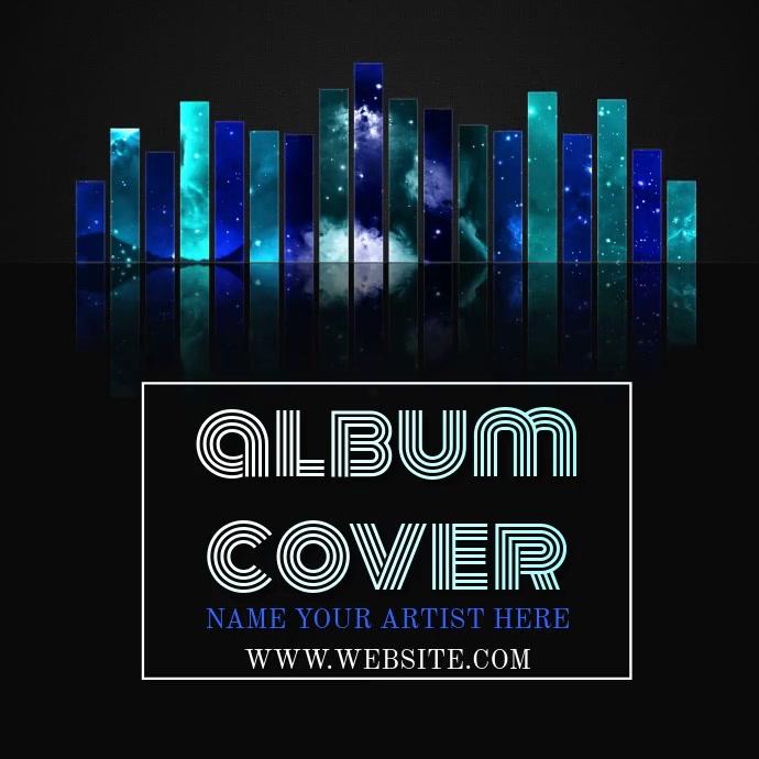 MUSIC ALBUM COVER VIDEO TEMPLATE Logo