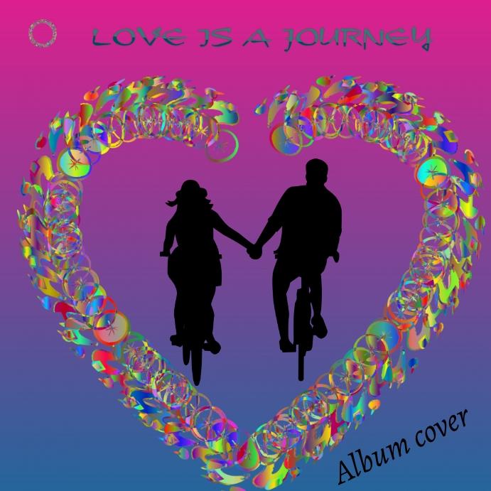 MUSIC ALBUM Cuadrado (1:1) template