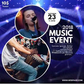 Music Band Concert Event Video promotion for instagram