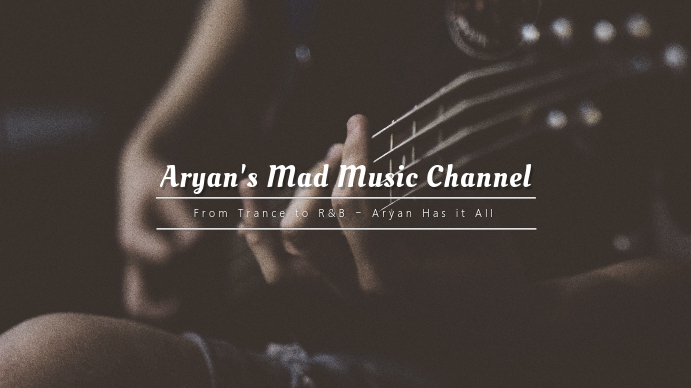 copy of music channel youtube cover template