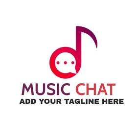 music chat icon logo