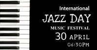 Music classes, music,jazz day Imagem partilhada do Facebook template