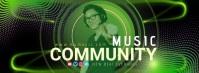 MUSIC COMMUNITY DJ Facebook Cover Video Facebook-coverfoto template
