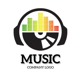 MUSIC COMPANY BUSINESS LOGO DESIGN Template