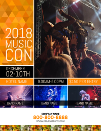 Music Conference Flyer Template