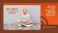Music Day Header Blog template